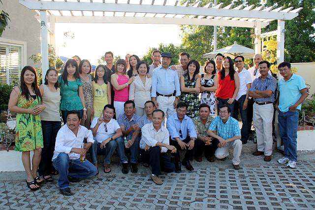 Sinh hoạt tại nhà Nguyễn Tấn, San Jose tháng 9-2011
