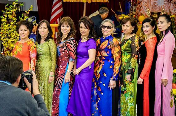 Hoạt cảnh mừng Xuân 2015 của đồng hương Thuận An Nam California